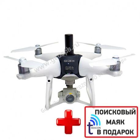 DJI Phantom 4 PRO Geobox GNSS PPK