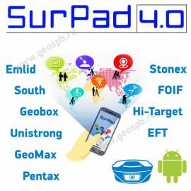 ПО SurPad 4.0 для GNSS приемников