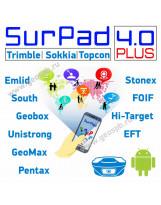 ПО SurPad 4.0 Plus для GNSS приемников