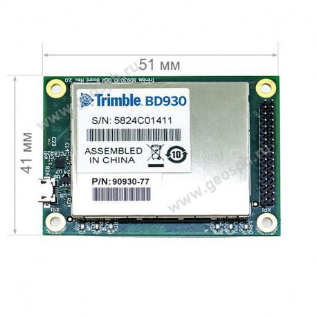 Комплект ГНСС оборудования Trimble BD930 UAV KIT
