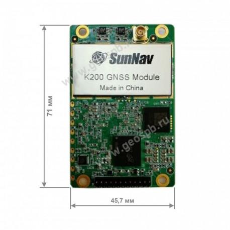GNSS OEM модуль SunNav K200
