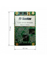 GPS OEM модуль SunNav K200