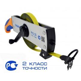 Рулетка Geobox РК2-30, 30 м, 2 класс, нейлоновая защита