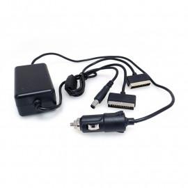 ЗУ для аккумуляторов DJI-4-Car-2x1 (на 2-а аккумулятора и пульт управления, от прикуривателя, 12в)