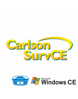 ПО для GNSS и тахеометров Carlson SurvCE, Windows CE